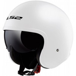 Casco LS2 SPITFIRE OF599 BLANCO