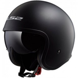 Casco LS2 SPITFIRE OF599 NEGRO MATE