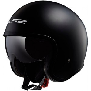Casco LS2 SPITFIRE OF599 NEGRO