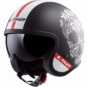 Casco LS2 SPITFIRE OF599 INKY