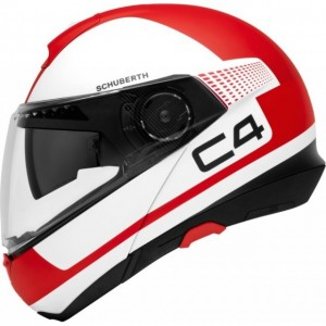 Casco Schuberth C4 LEGACY Red