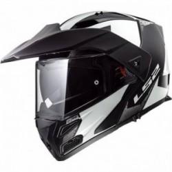 LS2 METRO EVO FF324 SUB Blanco Negro, Bluetooth opcional