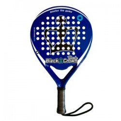 Pala De Padel Black Crown Dark