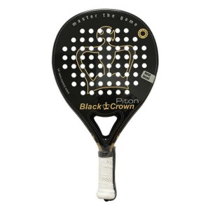 Pala De Padel Black Crown Piton