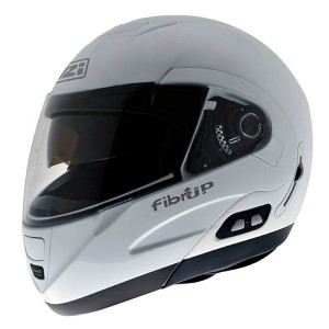 Casco Modular NZI FIBRUP DUO WHITE PH