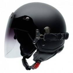 Casco NZI TONUP VISOR MATT BLACK