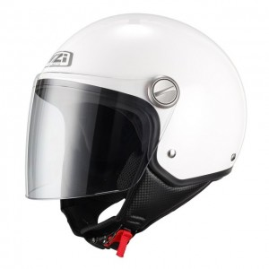 Casco NZI CAPITAL VISOR WHITE
