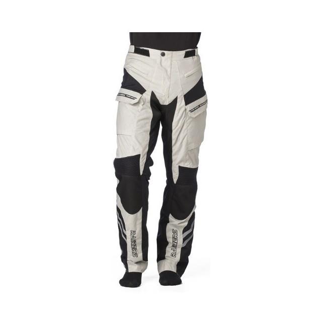 Pantalon Para Moto De Cordura Rainers Stone Gris