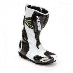 Botas Racing Junior Rainers Five Twoo Blanco Negro
