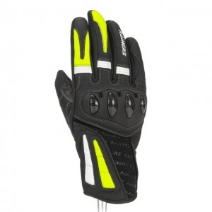 Guantes Racing Rainers MAX Negro/Fluor