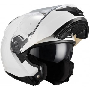 Casco Modular NZI COMBI DUO WHITE