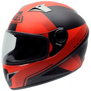 Casco NZI VITAL FLUO RED