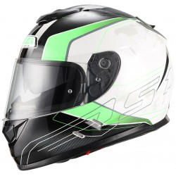 Casco NZI SYMBIO DUO ARESONE WHITE GREEN