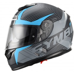 Casco NZI SYMBIO DUO TERA BLACK BLUE