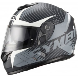 Casco NZI SYMBIO DUO TERA BLACK WHITE