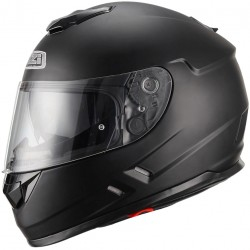 Casco NZI SYMBIO DUO MATT BLACK