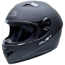 Casco NZI MUST II MATT BLACK