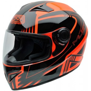 Casco NZI MUST II XLOGO ORANGE