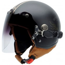 Casco NZI TONUP VISOR STEEL WHEELS