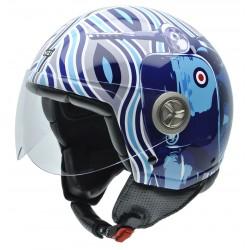 Casco NZI ZETA MOD BLUE
