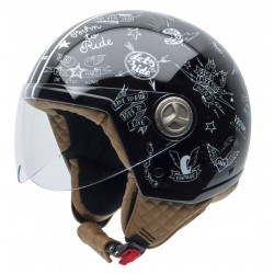 Casco NZI ZETA STICKERS