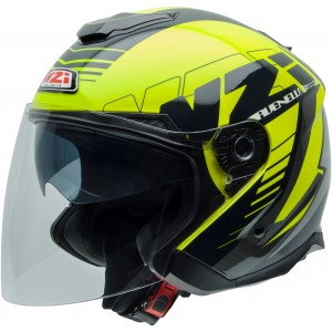 Casco NZI AVENEW 2 DUO PROVA YELLOW BLACK