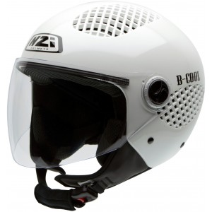 Casco NZI B-COOL PEARL WHITE