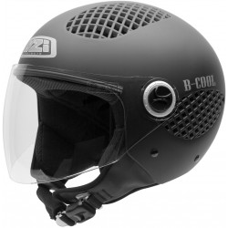 Casco NZI B-COOL MATT BLACK