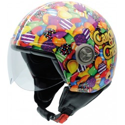 Casco NZI Zeta Candy Crush SUGARBABY