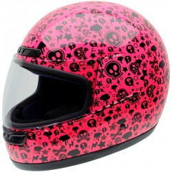 Casco NZI Activy Junior PINK BONES
