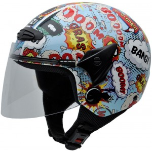 Casco NZI Helix II Junior BOOM