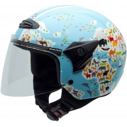 Casco NZI Helix II Junior MAPAMUNDI