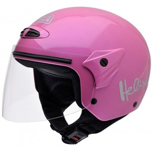 Casco NZI Helix II Junior PINK