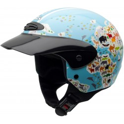 Casco NZI Single II Junior MAPAMUNDI
