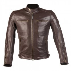 Chaqueta Piel By City Street Cool Marron