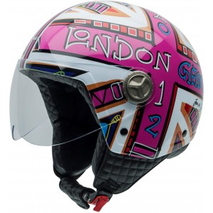 Casco NZI ZETA DREAM BIG LONDON