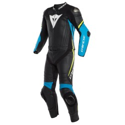 Mono Dainese Laguna Seca 4 2P Black/Fire-Blue/Fluo-Yellow