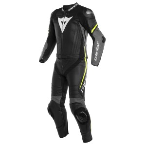Mono Dainese Laguna Seca 4 2P Black/Charcoal-Gray/Fluo-Yellow