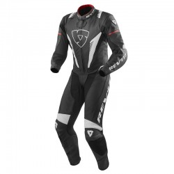Mono Rev'it VENOM 1P NEGRO-BLANCO-ROJO