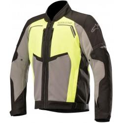 Chaqueta Alpinestars Durango Air Negra - Gris Oscura - Amarilla Fluo