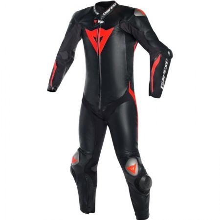 Mono Dainese MUGELLO R D-AIR 1P Negro / Negro / Rojo