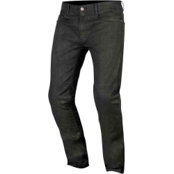 Pantalon Vaquero Alpinestars DOUBLE BASS DENIM WITH KEVLAR GREASER NEGRO