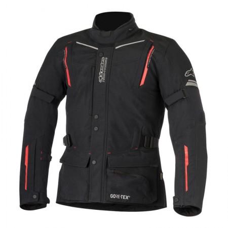 Chaqueta textil Alpinestars Guayana Gore-Tex Pro Tech-Air Negro Rojo
