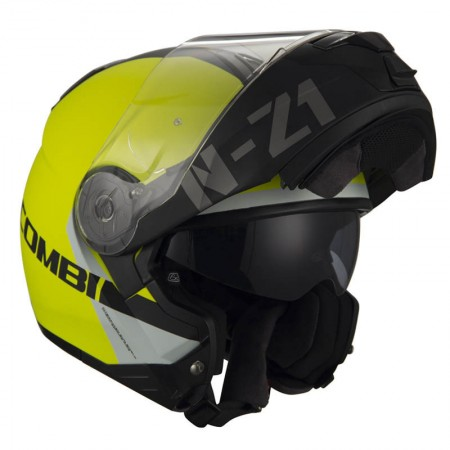 Casco Modular NZI COMBI 2 DUO FLYDECK YELLOW