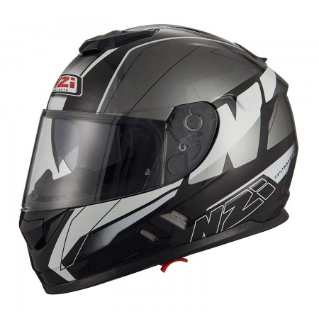 Casco NZI SYMBIO 2 DUO MEGA BLACK ANTRACITE