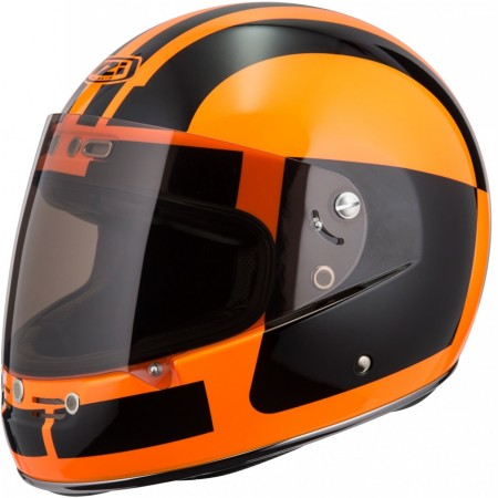 Casco NZI STREET TRACK 2 COMANDO FLUO ORANGE
