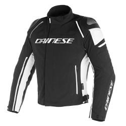 Chaqueta Dainese Racing 3 D-Dry Jacket Negro / Negro / Blanco