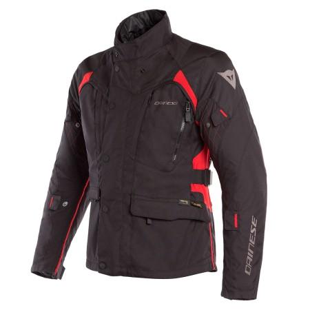 Chaqueta Dainese X-Tourer D-Dry Jacket Negro / Negro / Rojo