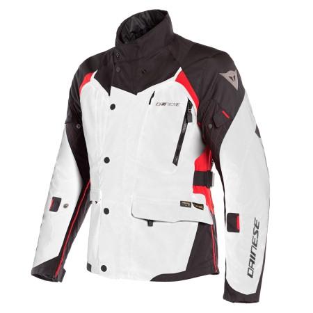Chaqueta Dainese X-Tourer D-Dry Jacket Gris / Negro / Rojo