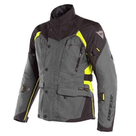 Chaqueta Dainese X-Tourer D-Dry Jacket Negro / Gris / Amarillo